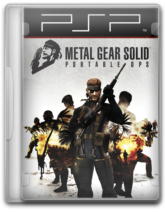 Metal Gear Solid Portable Ops (PSP)