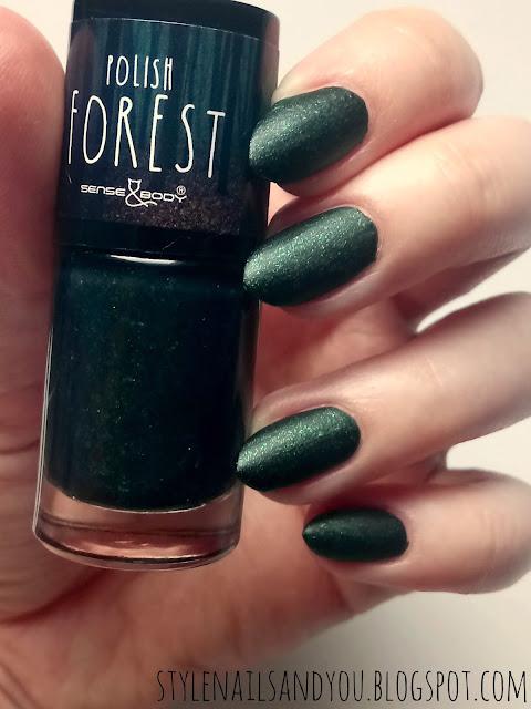 Sense&Body Polish Forest Świetliki Nocą
