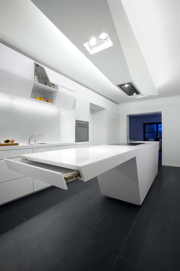Futuristic Kitchens Kitchen Design Ideas The Kitchen Design