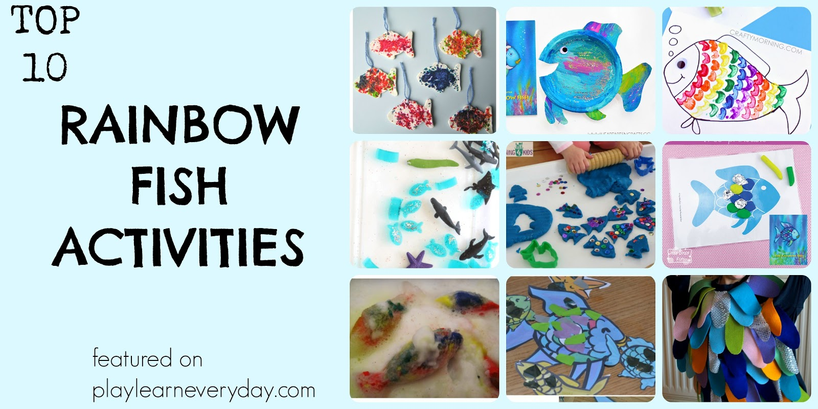 Top Ten Rainbow Fish Activities - Play and Learn Every Day