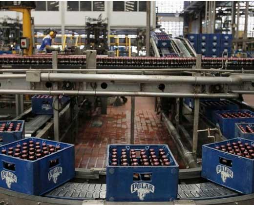 Polar prevé caída del 40% en producción de cerveza