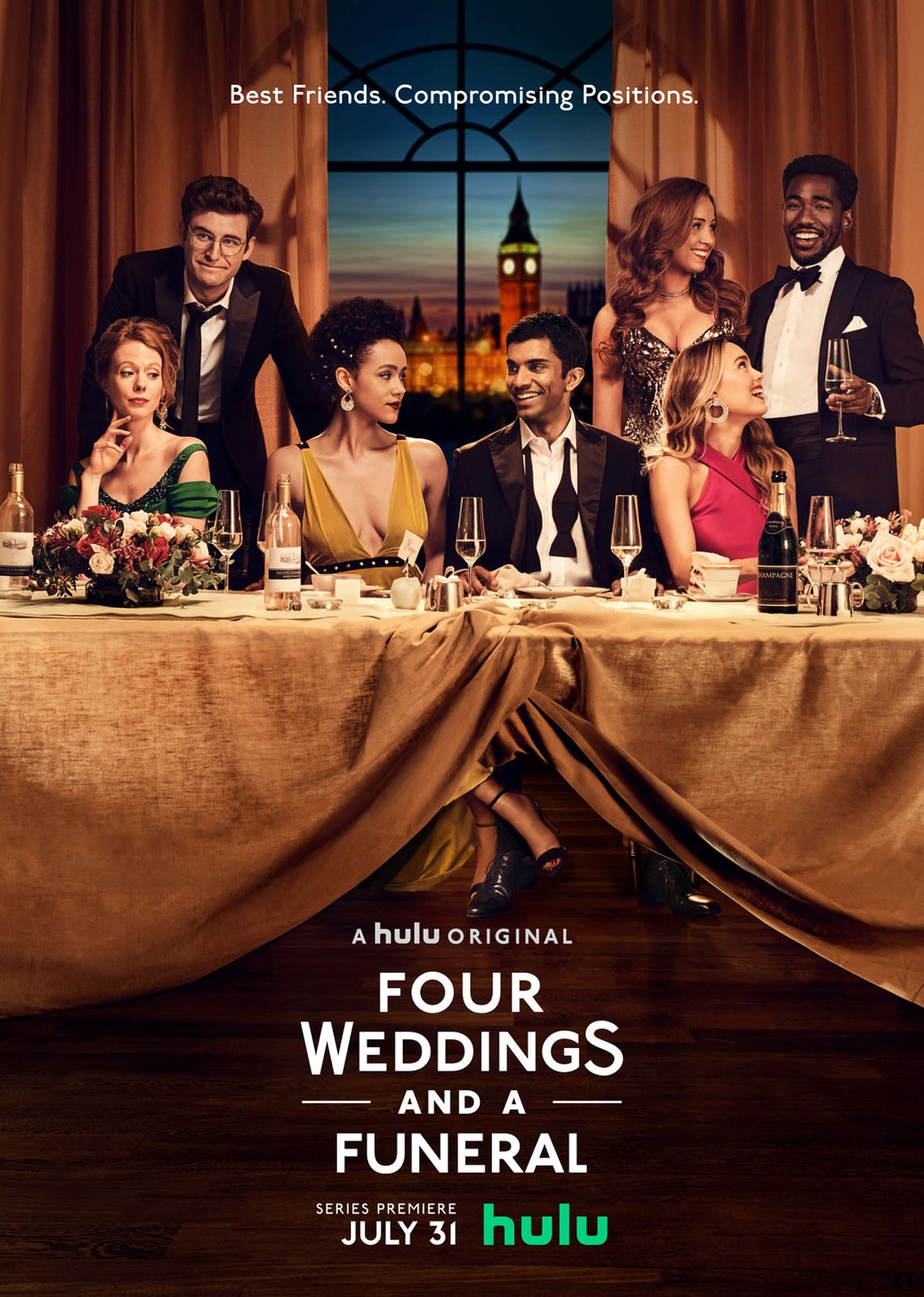 Quatre mariages et un enterrement – Saison 1 [Complete] [Streaming] [Telecharger]