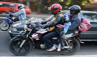Tips Aman Mudik Pulang Kampung Menaiki Kendaraan Bermotor