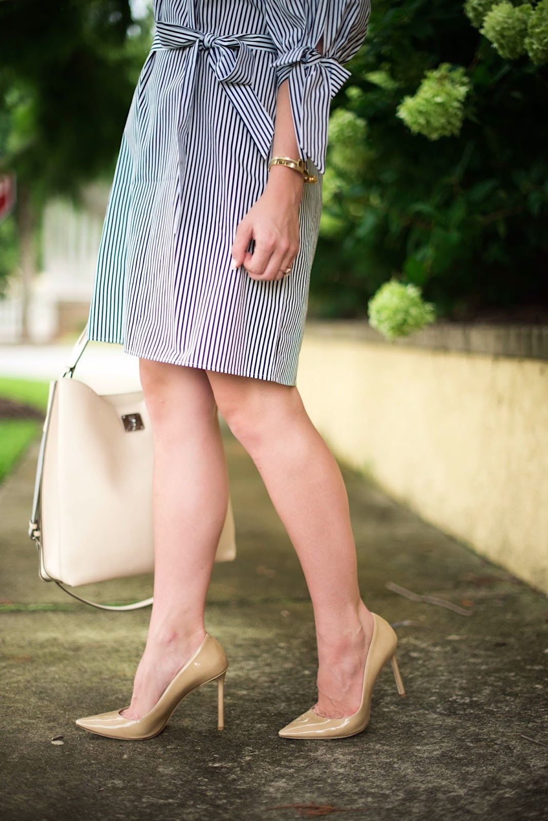 Jimmy Choo Romy Pumps - Click through to see more on Something Delightful Blog!