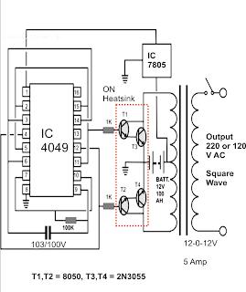 120 Watt Inverter Circuit Diagram - Wiring Diagrams User