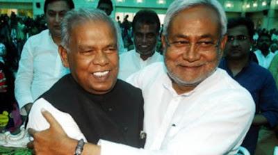 पूर्व मुख्यमंत्री जीतनराम मांझी ने दिया बड़ा बयान , महागठबंधन छोड़ नीतीश शामिल होंगे एनडीए में