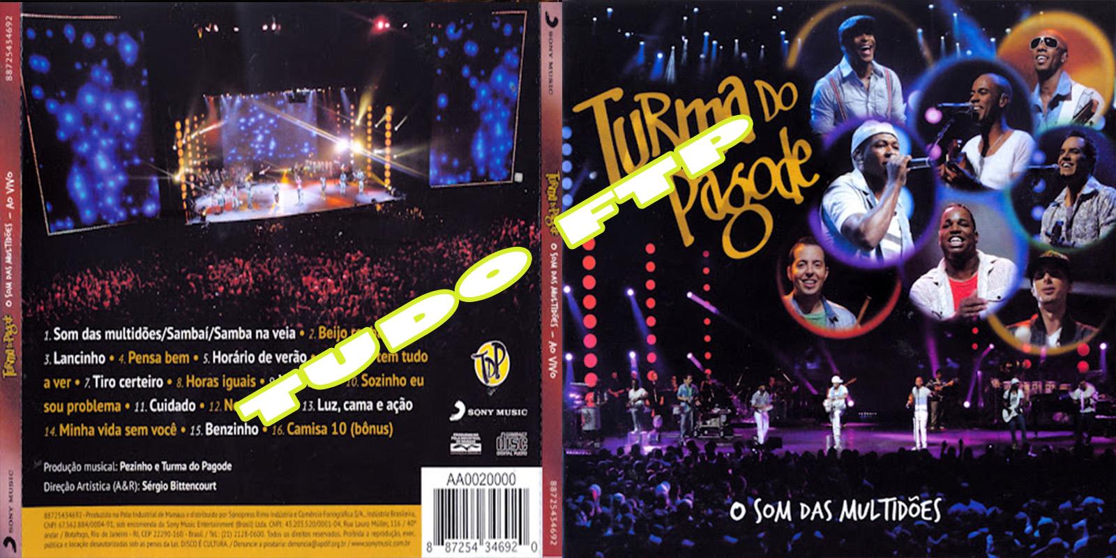 cd turma do pagode 2012 ao vivo