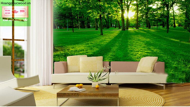 thiết kế theo phong cách gần gũi với thiên nhiên