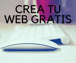 crea tu web gratis, profesional con plataformas para tiendas online o websites