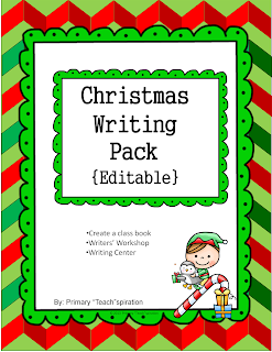 http://www.teacherspayteachers.com/Product/Christmas-Writing-Pack-Editable-967809