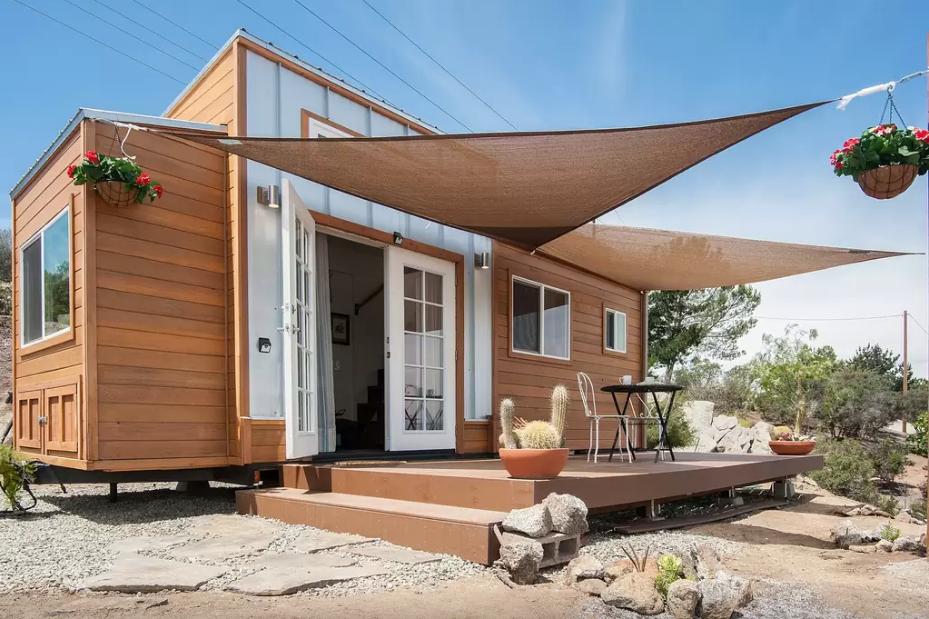 tiny house town the zen cottage. Black Bedroom Furniture Sets. Home Design Ideas
