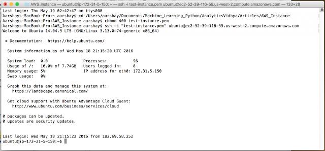 Instance Amazon Web Service