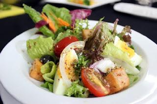 Salad dầu giấm kích thích vị giác