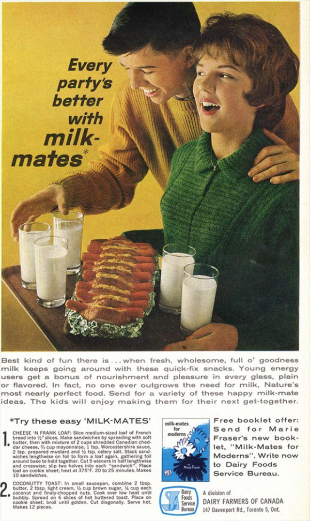 18 Gross Vintage Hot Dog Ads ~ vintage everyday
