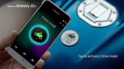 Fitur S Bike di Samsung Galaxy J3 Jagonya safety saat mengemudi