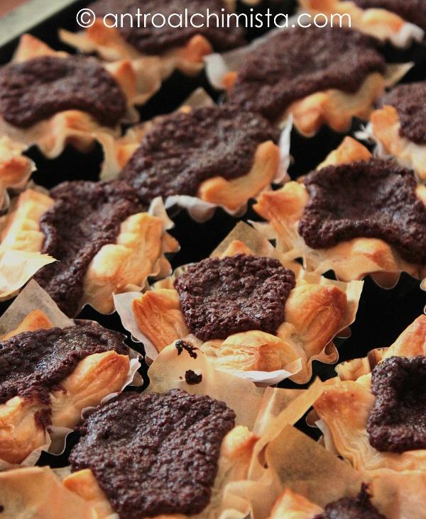 Sfogliette di Ricotta e Nutella