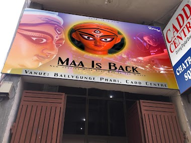 Maa Is Back - Happy Durga Puja 2018 by Anupam Design