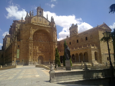 Patrimonio de la Humanidad en Europa y América del Norte. España. Ciudad Vieja de Salamanca.
