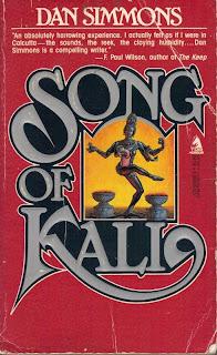 Resultado de imagem para Song of Kali de Dan Simmons
