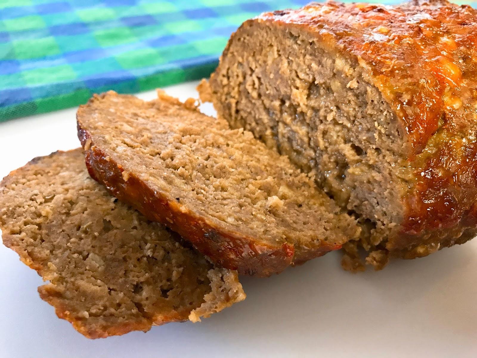 Ritz Cracker Meatloaf The Easiest Meatloaf Recipe Mantitlement