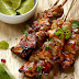 Chicken Kebabs with Caribbean Sauce