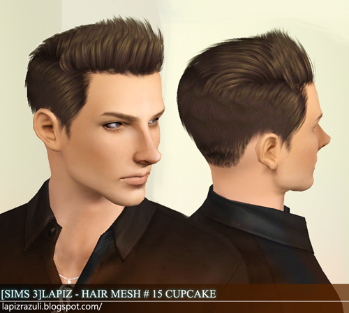 My Sims 3 Blog Lapiz Lazuli Zombrex And Cupcake Hairs For Males
