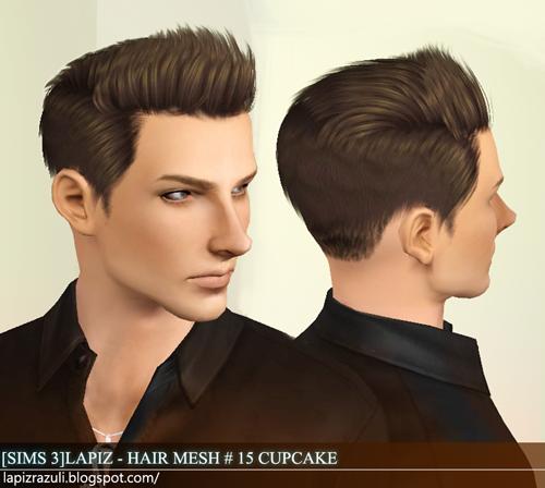 Wondrous My Sims 3 Blog Lapiz Lazuli Zombrex And Cupcake Hairs For Males Short Hairstyles For Black Women Fulllsitofus