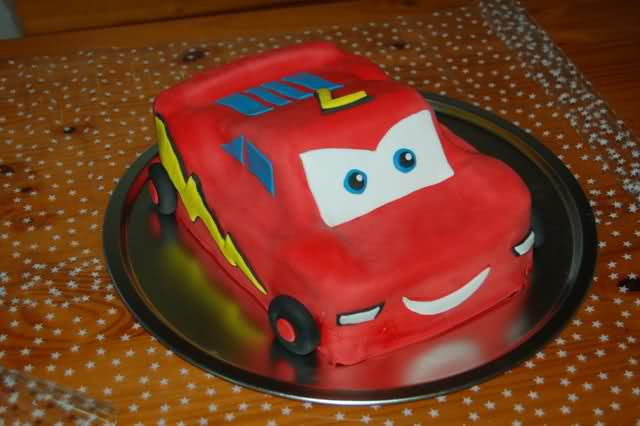 birthday cake cars pixar