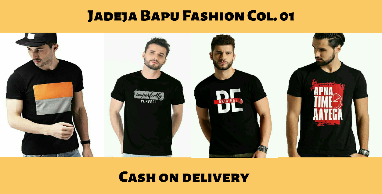 Jadeja Bapu T-shirt Collection | Stylish T-shirts for men