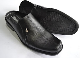 Gambar sepatu kulit santai