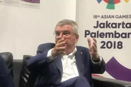 Asian Games Sukses, Presiden IOC: Indonesia Punya Kans Jadi Tuan Rumah Olimpiade