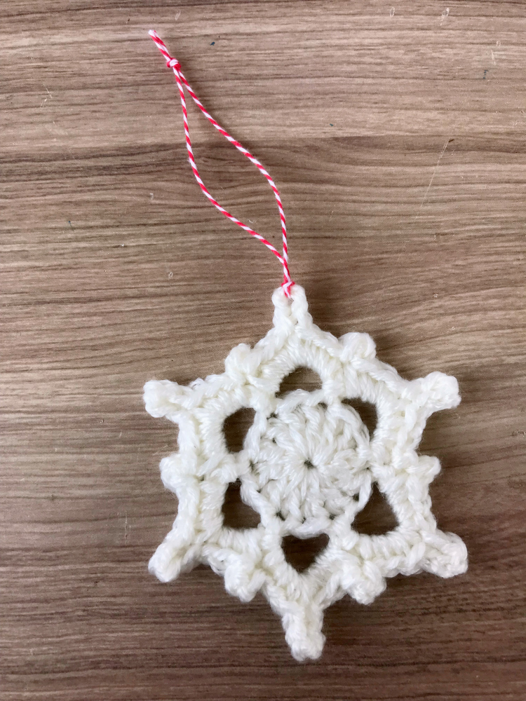 5 Little Monsters Crocheted Snowflakes