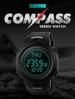 Harga jam tangan skmei compass