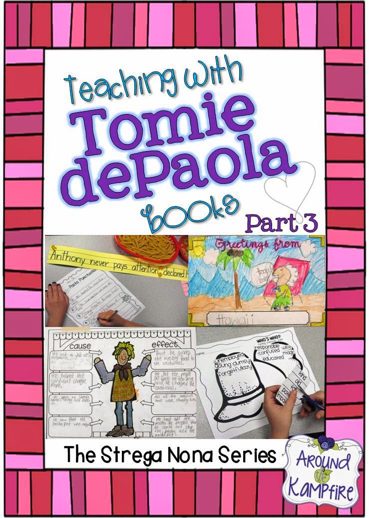 Teaching with Tomie dePaola books Part 3: The Strega Nona series