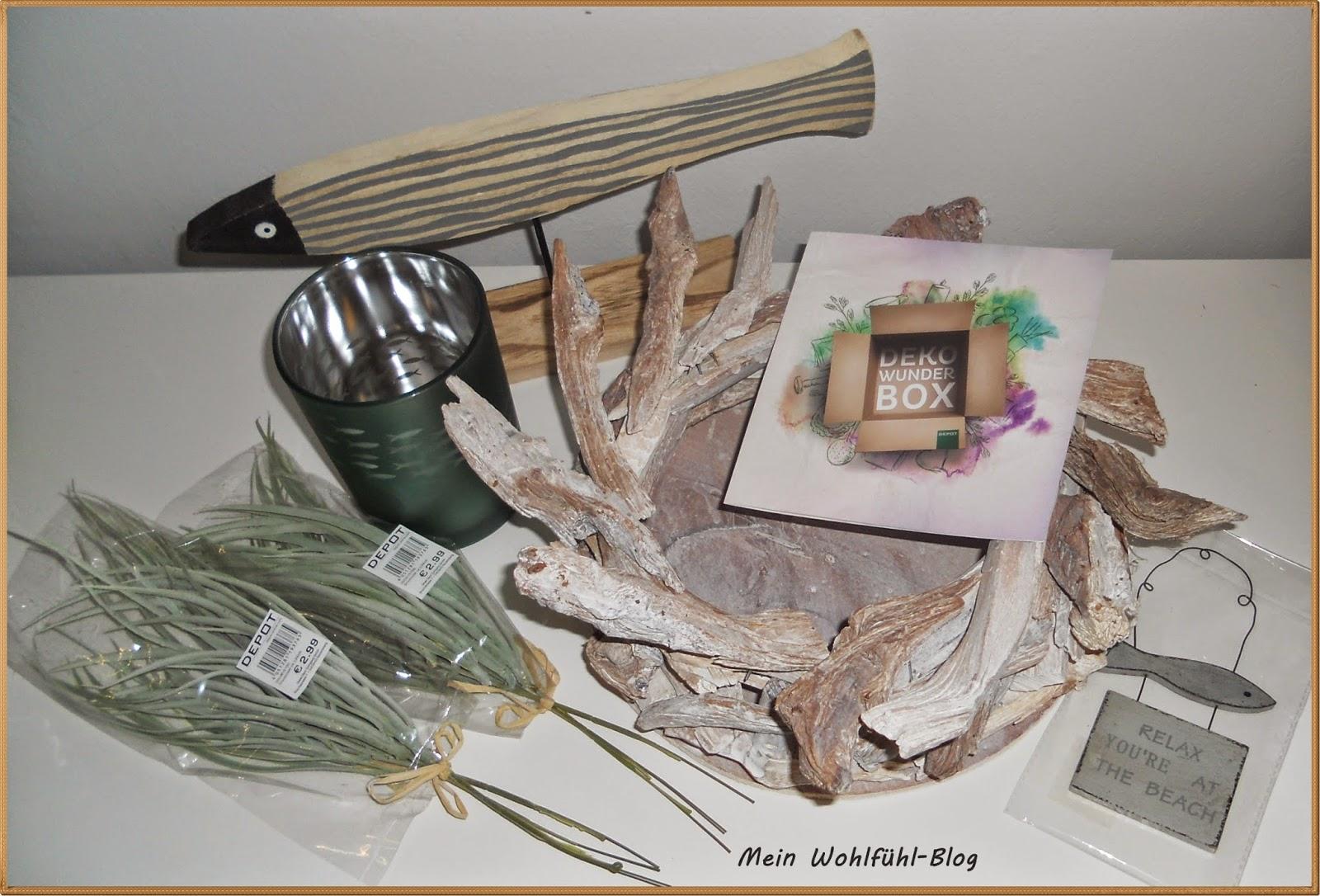 mein wohlf hl blog depot deko wunder box mai 2015 maritim. Black Bedroom Furniture Sets. Home Design Ideas