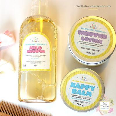 Tiny twinkle organic natural halal bath products kids