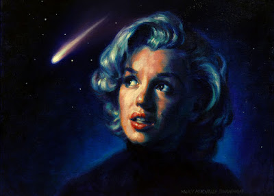 Art by Mary Rochelle Burnham: Shooting Star