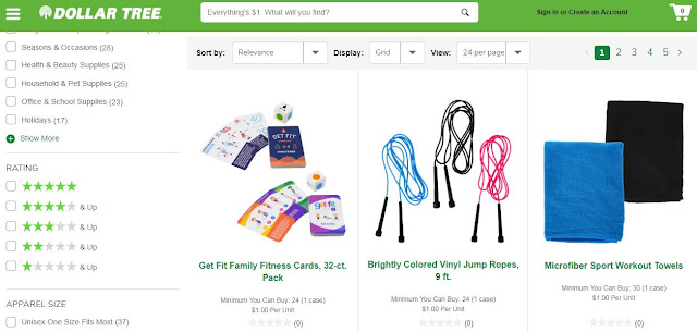 dollar tree fitness equipment health products frugal fit