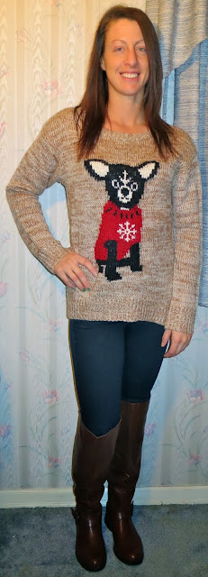 Chihuahua Sweater Outfit