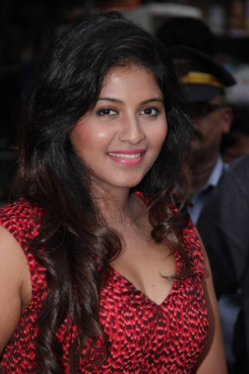 Film Actress Anjali Hot Face Closeup Smiling Photos