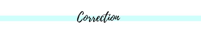 correction des articles