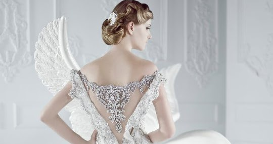 Simple Wedding Dresses Whitney Deal Bridal Gown 2: Exposing Beautiful Back ; Wedding Dresses Gown