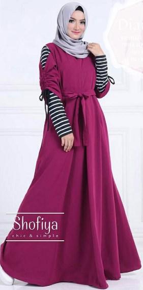 Busanamusllim 10 Contoh Model Gamis Muslim Untuk Remaja Spesial