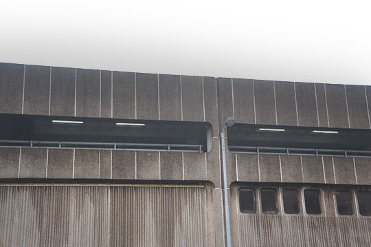 British Brutalism, brutalist, architecture, concrete, 1970s buildings, urban photography, art, Sam Freek,