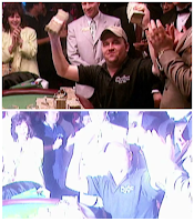 Chris Moneymaker wins the 2003 World Series of Poker Main Event