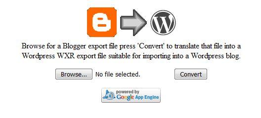 memindahkan isi blogger ke wordpress