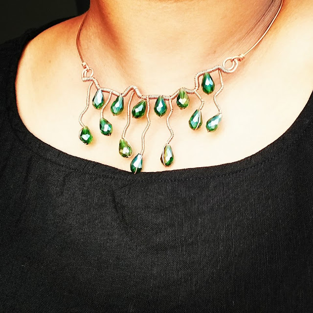 Copper Pendants, Copper Jewelry, Wire Wrapped Jewellery India