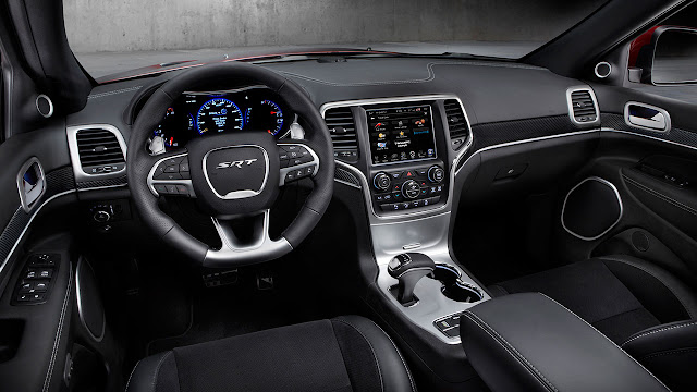 2014 Jeep® Grand Cherokee SRT interior