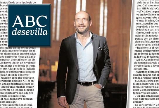 Honorio Aguilar García en ABC de Sevilla