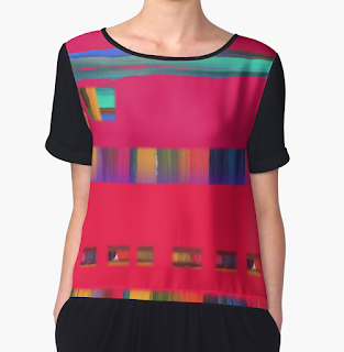 Computer Love Womens Chiffon Top from RedBubble